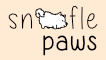Snoofle paws pay pal button