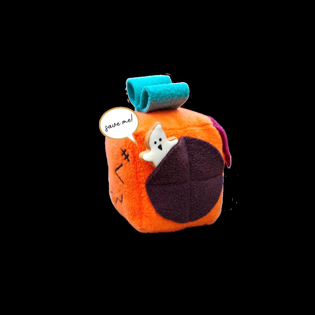 Howloween Pumpkeen Mish-mash block with cookie