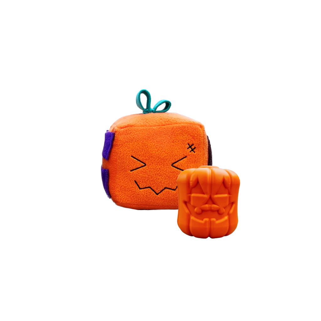 Howloween Undead Collection with a Pumpkeen Mish-mash block and Jack-o-lantern